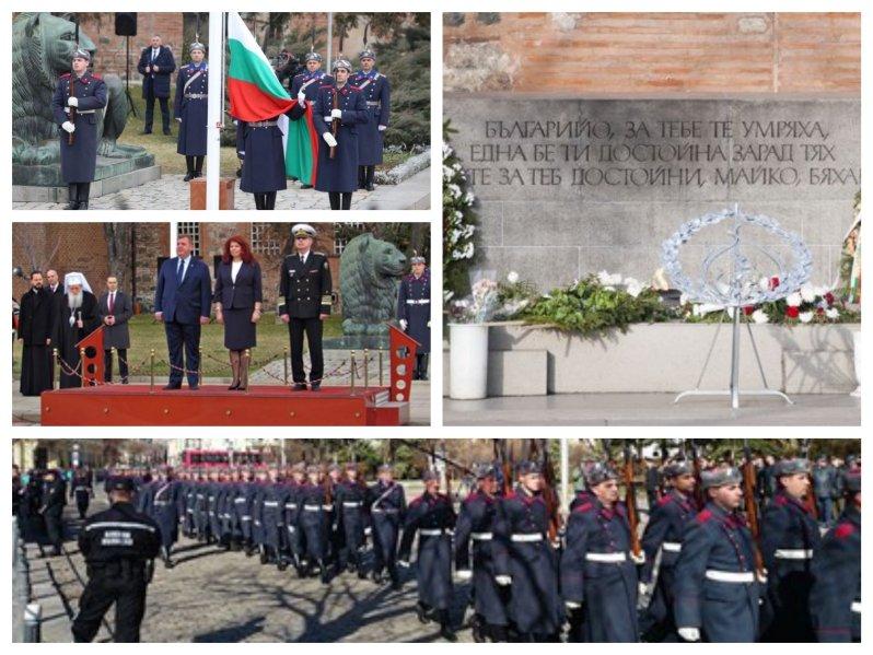 ИЗВЪНРЕДНО В ПИК TV! България почита Освобождението с церемония, венци и преклонение пред Паметника на Незнайния воин (ВИДЕО)