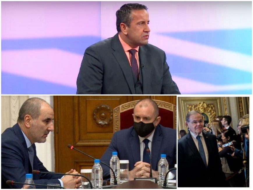 Георги Харизанов за интригата на Цветанов и Радев: Сенаторът, когото са използвали за лобизъм, е осъден за корупция