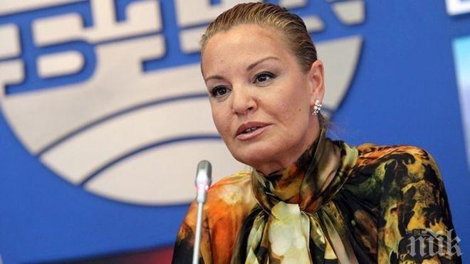 Министерството на спорта застана зад Стефка Костадинова