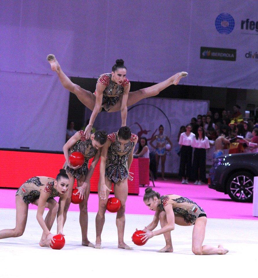 Нашите грации с втори златен медал от Световната купа в Арена Армеец