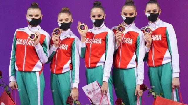 СТРАХОТНО! Грациите ни обраха всички златни медали в София
