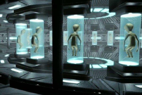 СТРОГО СЕКРЕТНО: Подземията под Капитолия са пълни с трупове на извънземни
