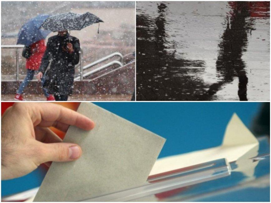 ПРОГНОЗА: Як студ на изборите - температурите падат рязко, идат сняг и дъжд