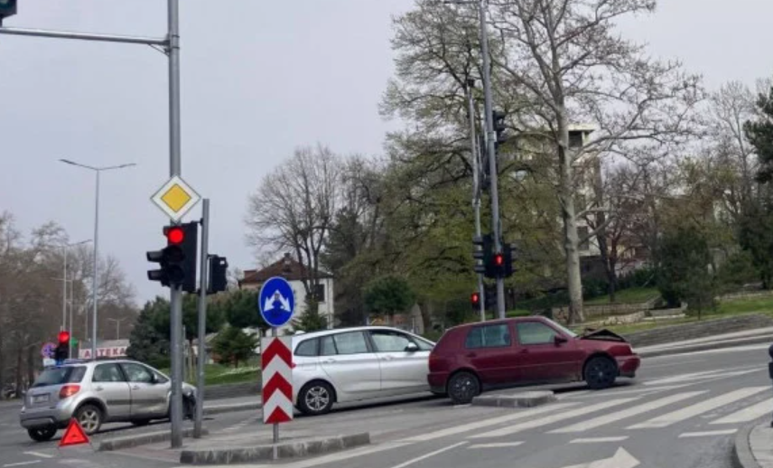 Коли се помляха на възлово кръстовище в Пловдив