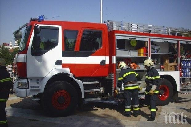"Голям пожар изпепели апартамент в столичния квартал ""Дружба"""