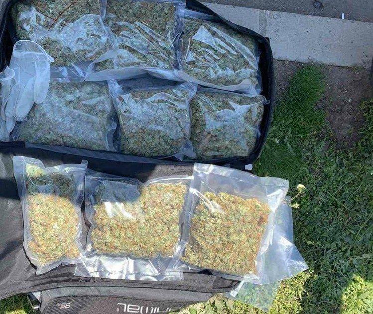 Откриха оранжерия за отглеждане на марихуана, наркотици и оръжие в Русе