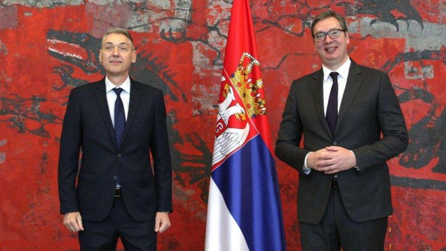 Новият български посланик в Белград връчи акредитивните си писма на Александър Вучич
