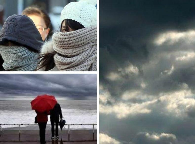 ОСТАВА ПО-СТУДЕНО ОТ ОБИЧАЙНОТО! Променлива, по-често значителна облачност. На места с валежи от дъжд (КАРТА)