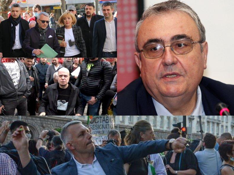 Политологът Огнян Минчев: Пикахте по дуварите на обществените сгради, сега господин Слави ви очаква за високо интелигентен разговор
