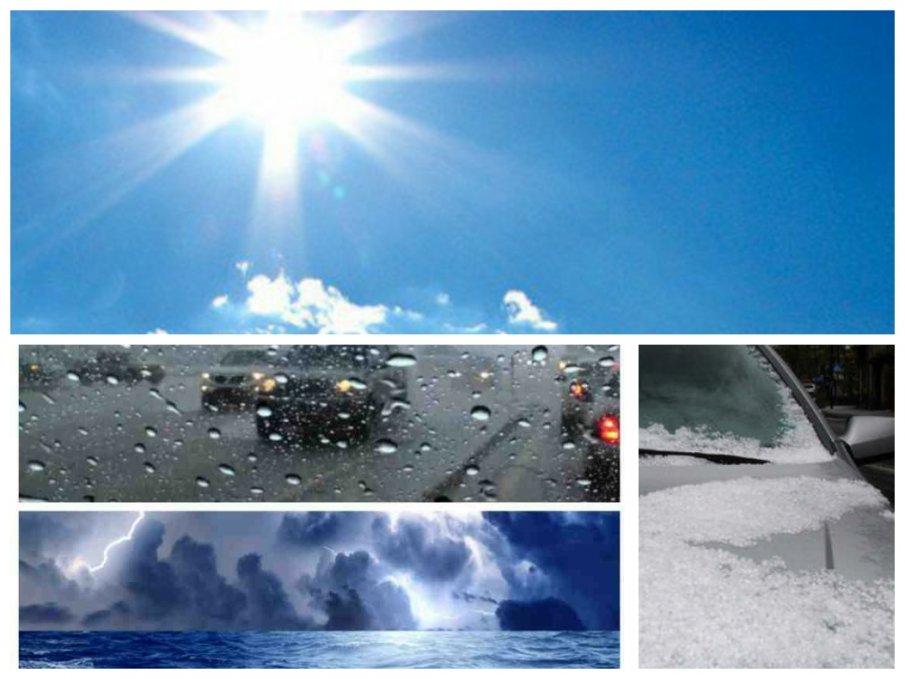 ПРОЛЕТНА ЗИМА: Кратко затопляне, после вятър, дъжд, градушки и сняг