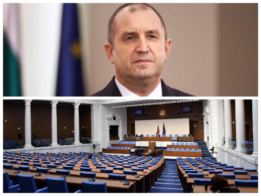 ИЗВЪНРЕДНО В ПИК TV: Радев с първа публична поява от месец насам - мълчи за изборите и парламента (ОБНОВЕНА)