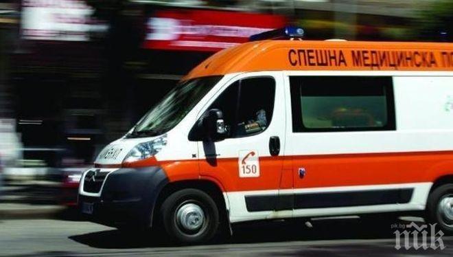 Ранен мъж изкърти врата в Спешното