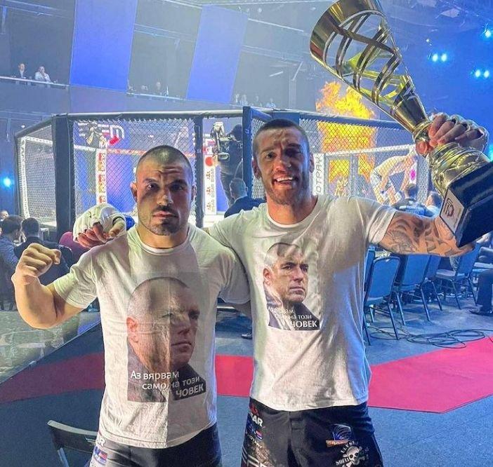 ММА боецът Даниел Илиев с огромна победа