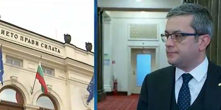 Тома Биков издаде кои партии ще покани ГЕРБ за консултации: Ако не получим подкрепа, отговорността следващите месеци ще е върху Слави Трифонов и Радев (ОБНОВЕНА)