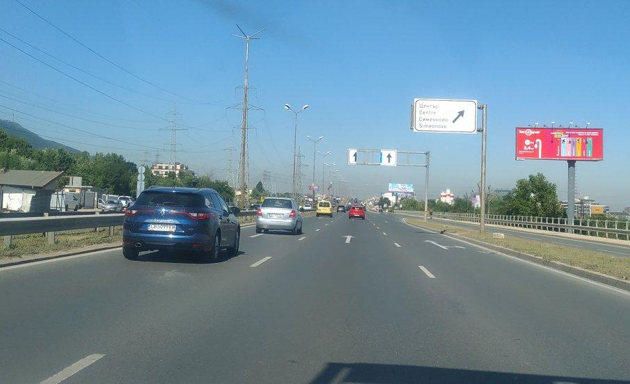 Жена пострада в автомеле на столичния булевард Симеоновско шосе