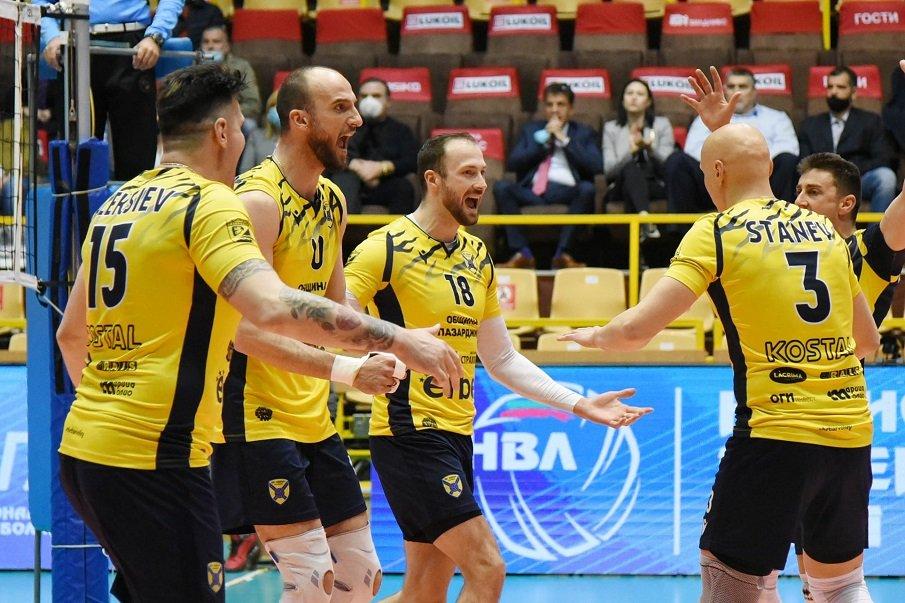 ИСТОРИЧЕСКИ ТРИУМФ: Хебър (Пазарджик) завоюва първа шампионска титла във волейбола