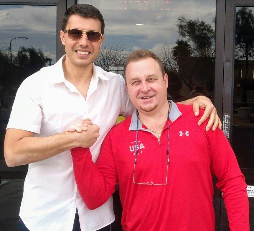 Спортният общественик Кирил Евтимов се срещна с един от най-великите олимпийци