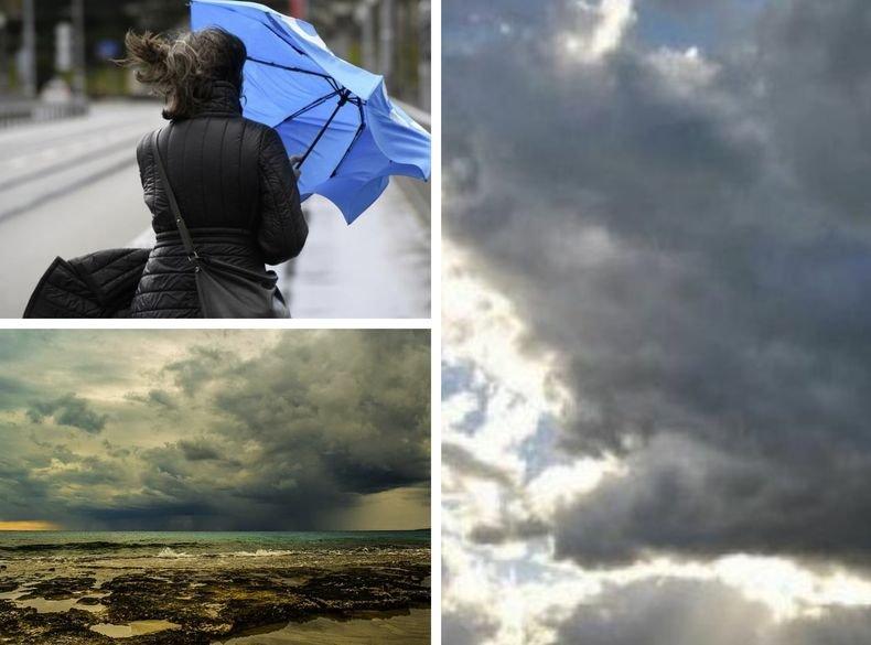 ВАЛЕЖИТЕ СПИРАТ! Променлива облачност, хладно. Жълт код за силен вятър за девет области на страната (КАРТИ)
