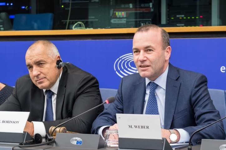 ПЪРВО В ПИК: Манфред Вебер поздрави ГЕРБ за представения проект за правителство