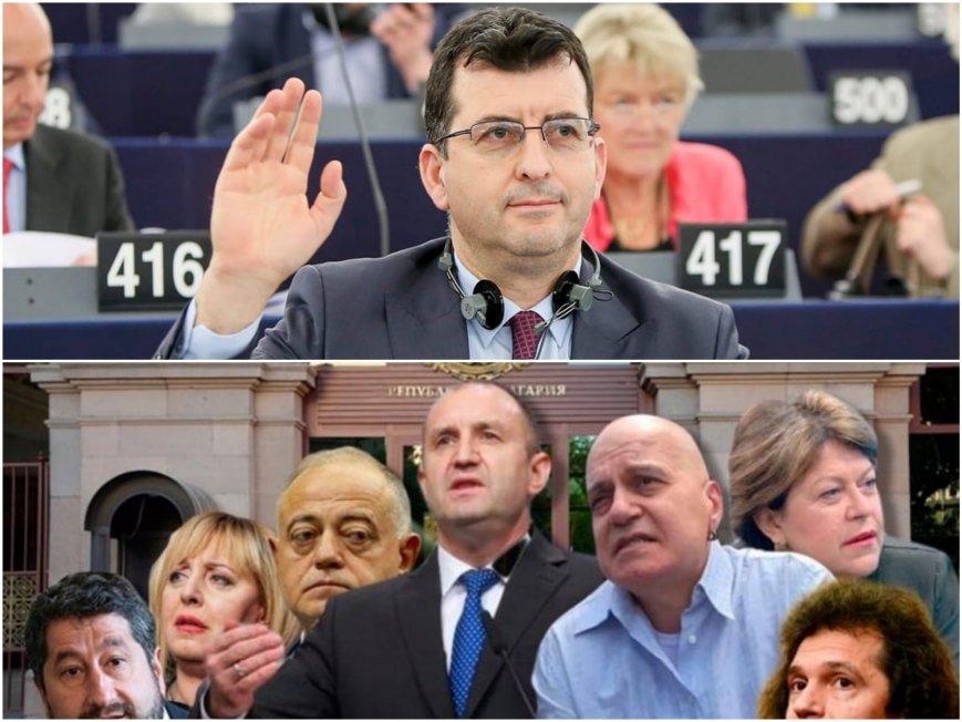 Евродепутатът от ГЕРБ Асим Адемов: ДБ, Мутрите на Мая, ДПС и БСП са приседнали на диванчето на Слави и чакат