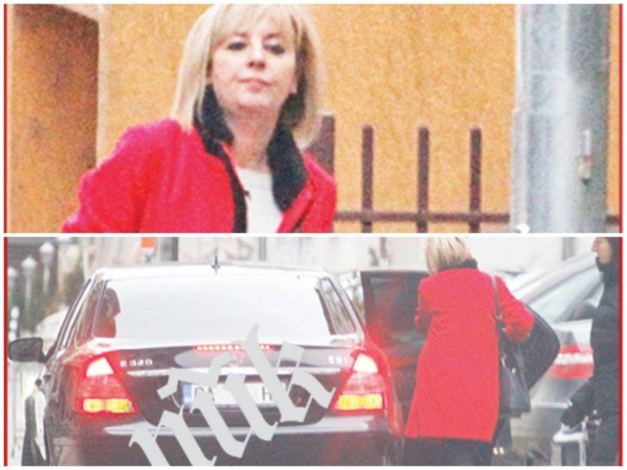 СКАНДАЛ В ПИК: Мая Манолова послъгва на едро като Слави още на старта - няма да сваля депутатите от мерцедесите, и тя сяда в лъскава лимузина с шофьор (ВИДЕО/СНИМКИ)