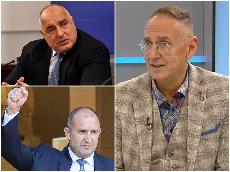 Любен Дилов: Ако Борисов излезе от политиката, Радев ще осиротее, защото няма да има срещу кого да размахва юмрук