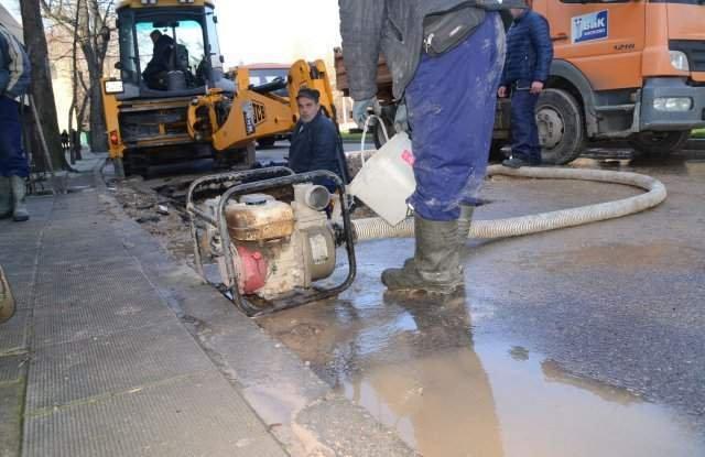 Аварии оставиха половин Хасково без вода