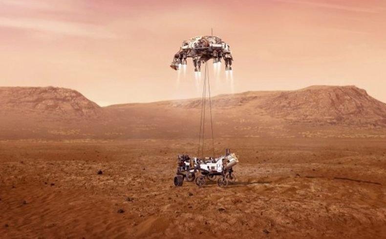 ЗА ПЪРВИ ПЪТ: Роботът на Марс извлече 5 грама кислород