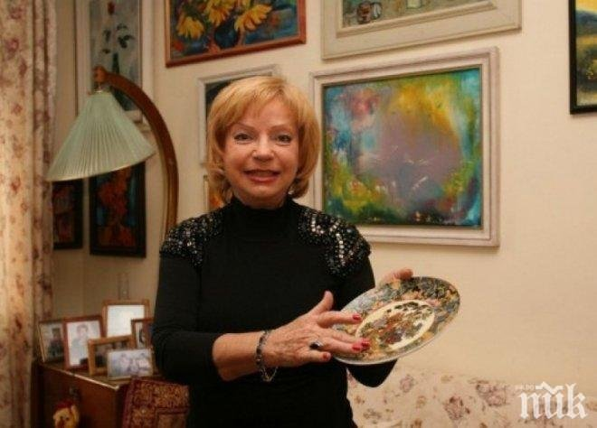 Легендата на БНТ Мария Янакиева губи зрението си