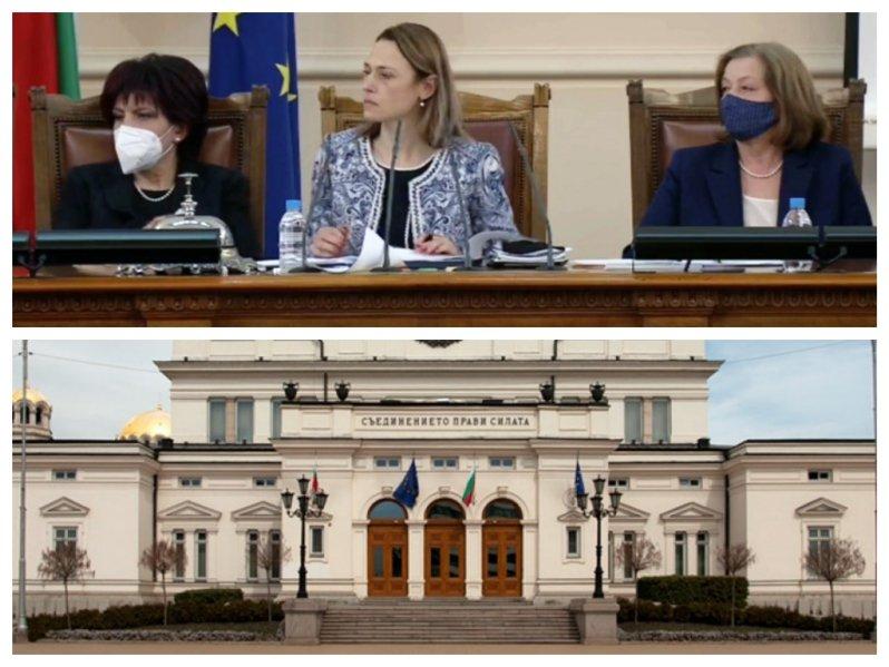 Депутатите събраха кворум, пуснаха се на живо по БНТ1 и БНР