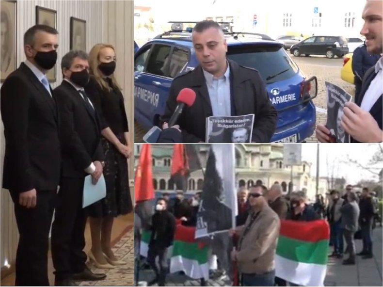 ИЗВЪНРЕДНО В ПИК TV: ВМРО на протест и пред президентството, столичани ги подкрепиха - търсят сметка от Тошко на Слави за секциите при Ердоган: Турски мекерета (ВИДЕО/ОБНОВЕНА)