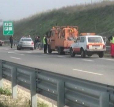 Тройна катастрофа заради мъгла на магистрала Струма