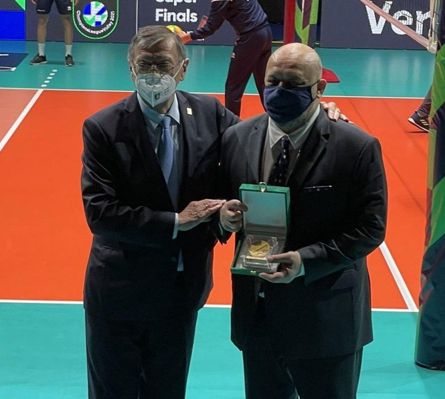 Красен Кралев беше избран за посланик на европейския волейбол