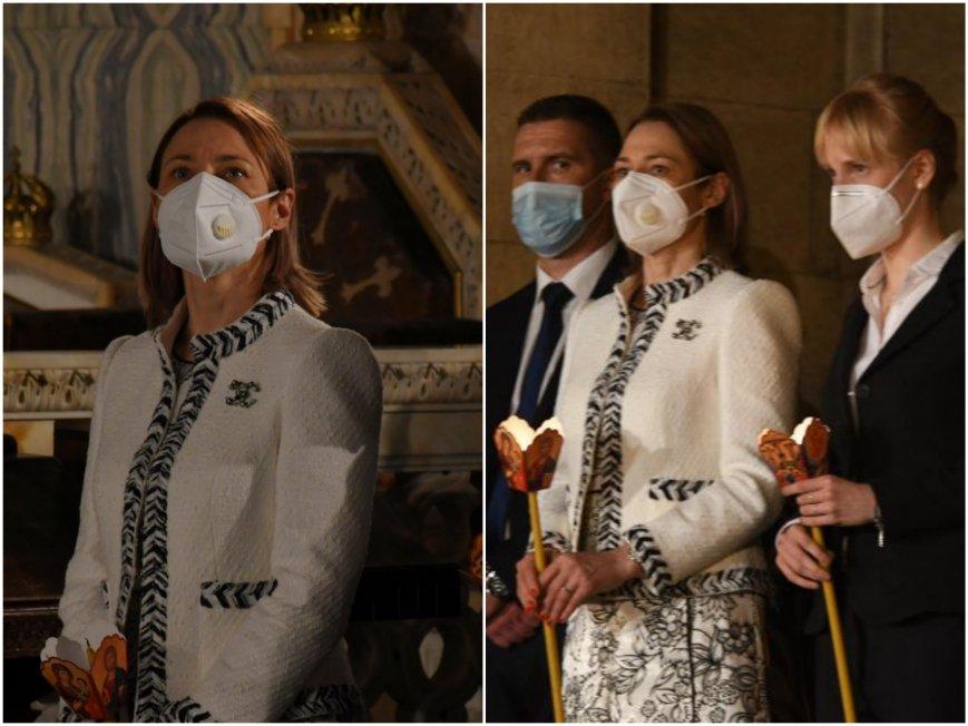 ГОРЕЩО В ПИК: Председателката на парламента Ива Митева демонстрира лукс навръх Великден - фука се с тоалет на Шанел за хиляди евро (СНИМКА)