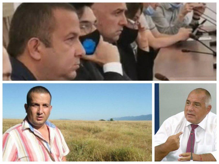 Ужилен от свидетеля Светослав Илчовски проговори пред ПИК: Открадна земята ми! Много народ е завлякъл, но има чадър над него. Това са бандити, може да посегнат на двете ми деца