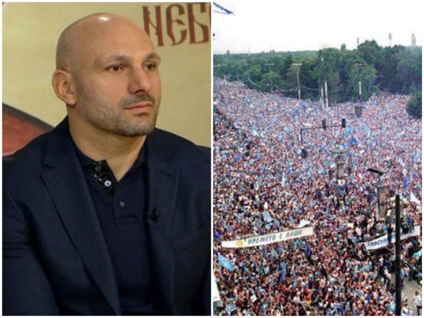 Станислав Недков-Стъки зове: Нека утре пред президентството да поискаме оставката на разединителя Радев