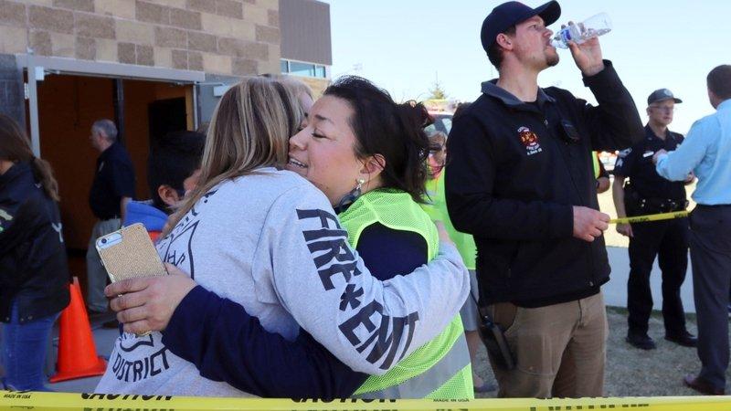 ЕКШЪН В АЙДАХО: Шестокласничка откри огън в училище и рани трима, учителката я обезоръжи (ВИДЕО/СНИМКИ)