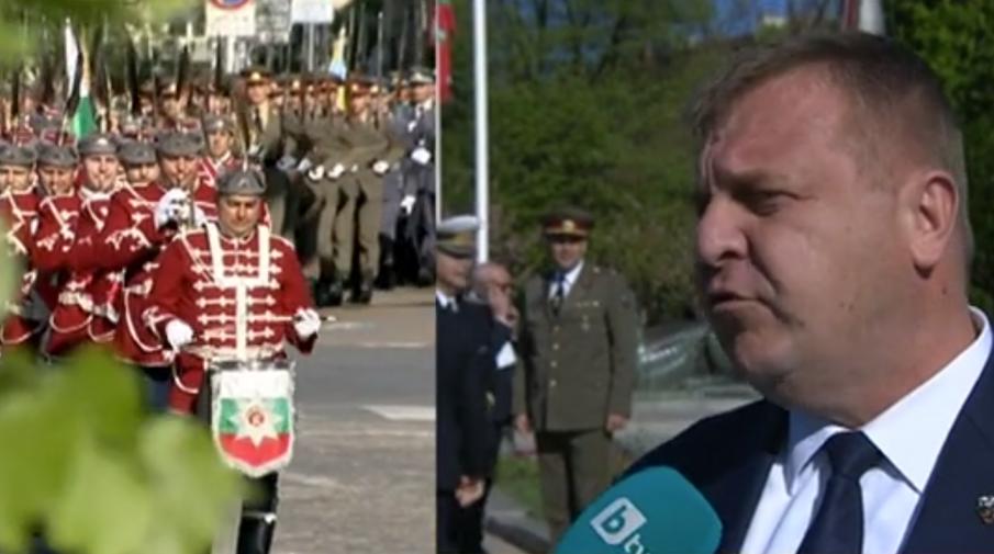 Каракачанов: Днес армията е по-готова да прави това, отколкото преди 4 или преди 10 години