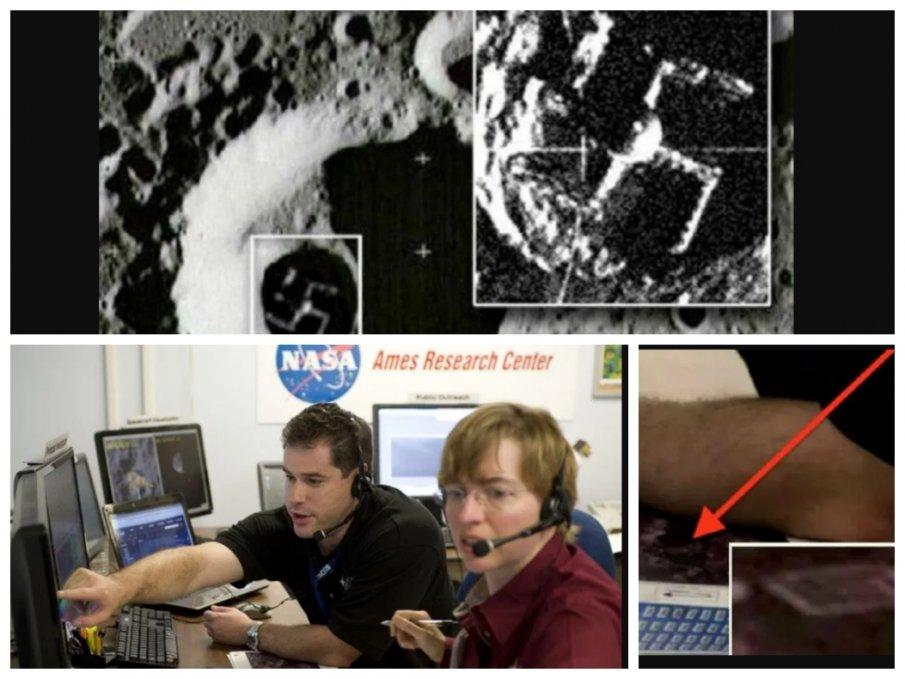МИСТЕРИЯ: Взриви ли НАСА следи от извънземен живот на Луната