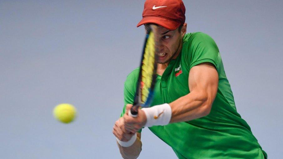ПРОБИВ: Националът Адриан Андреев ще играе за 15 000 долара на финал в Анталия
