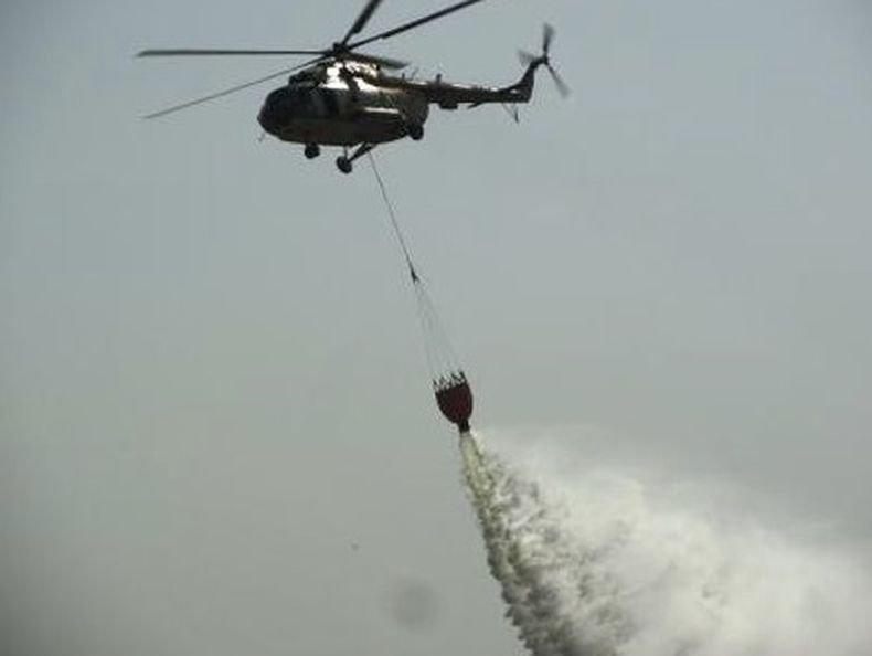 Четирима загинали при падането на хеликоптер на противопожарните сили в Китай