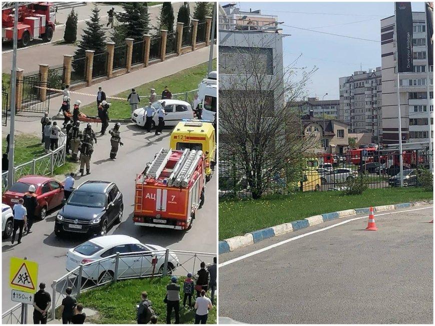 УЖАС В РУСИЯ: Стрелба в училище - най-малко 11 са убити, повечето деца! Момичета скачат в паника от куршумите през прозорците на 3-ия етаж (ВИДЕО/СНИМКИ)