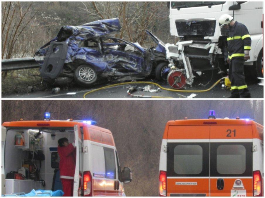 КЪРВАВ КУРБАН: Три трупа след брутална катастрофа на пътя Монтана-Видин (ОБНОВЕНА)