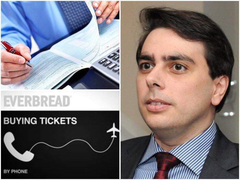 Асен Василев - министърът на финансите, чиято фирма фалира