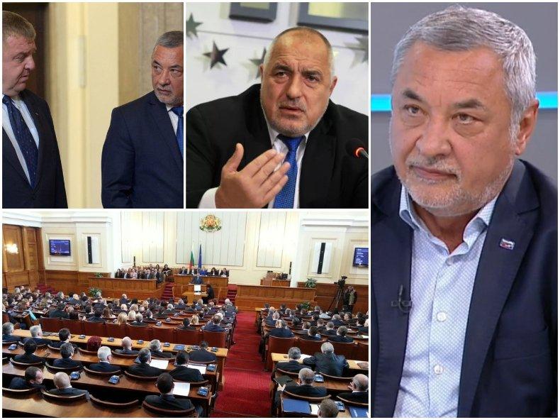 Валери Симеонов с горещ коментар - ще влезе ли в коалиция с ГЕРБ и ще си стиснат ли ръцете с ВМРО