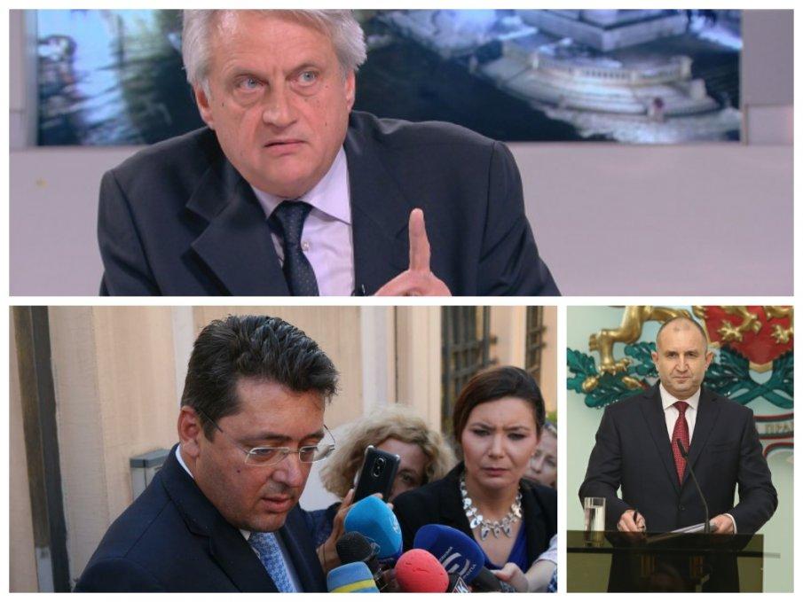 ПЪРВО УВОЛНЕНИЕ ОТ СЛУЖЕБЕН МИНИСТЪР: Бойко Рашков отстрани враг на президентски съветник