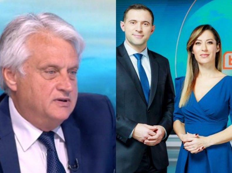 НЕЧУВАН СКАНДАЛ! Бойко Рашков размаха калъчката срещу журналисти - иска да уволнят Биляна Гавазова и партньора й от БТВ