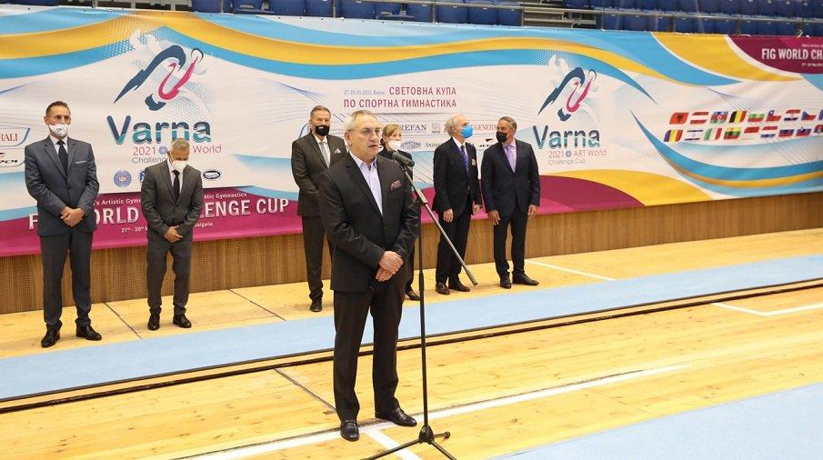 Андрей Кузманов откри Световната купа по спортна гимнастика във Варна (СНИМКИ)