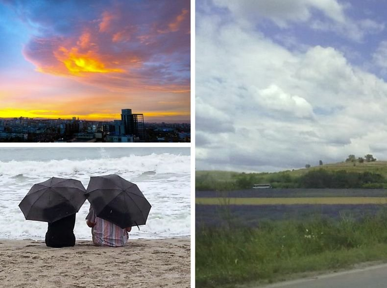 ОБЛАЦИ, СЛЪНЦЕ И ДЪЖД: Започва затопляне. Повече валежи ще има в източната част на страната (КАРТИ)