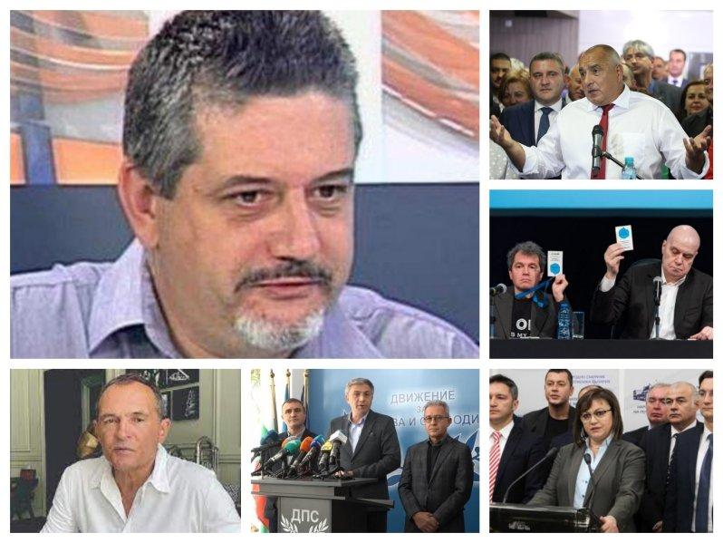 САМО В ПИК TV! Барометър с горещи данни за изхода от вота на 11 юли - ГЕРБ отново първи, БСП настига партията на Трифонов (ОБНОВЕНА)